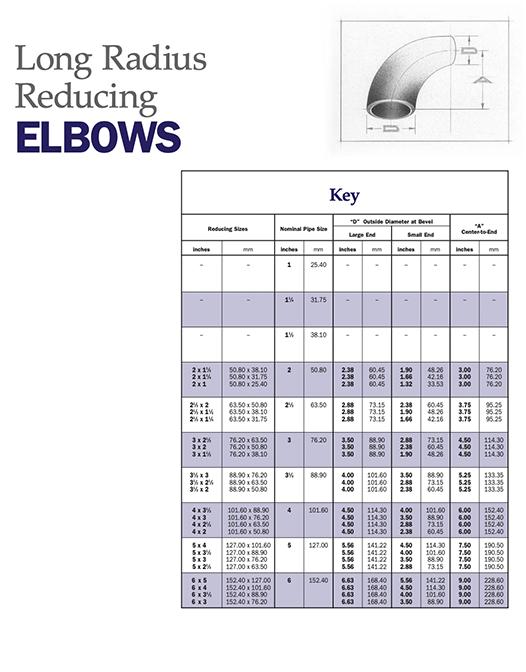 Elbows — Short Radius Reducing